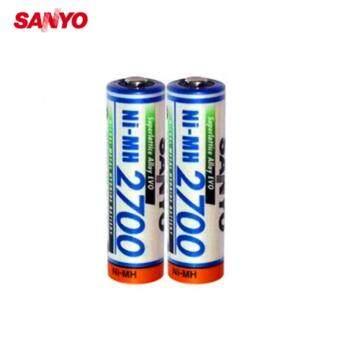 SANYO ถ่านชาร์จ รุ่น HR-4U-2B-2700 ไซส์ AA 2700 mAh 2 ก้อน(White )