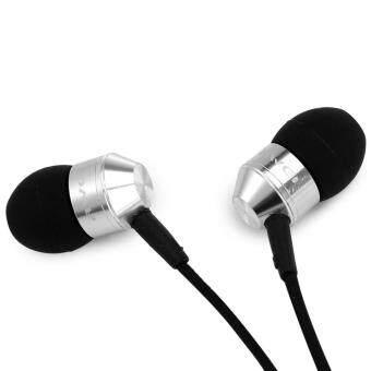 Awei K90i ชุดหูฟังชนิดใส่ในหูพร้อมปลั๊กหูฟัง 3.5 มม. (สีเงิน) - intl