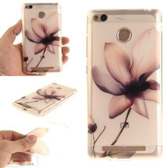 Harga TPU Flexible Soft Case for Xiaomi Redmi 3S (Magnolia Flower) - intl