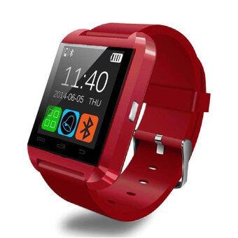 ISmart นาฬิกา อัจฉริยะ ระบบ Android รุ่น U8 SMART WATCH - สีแดง