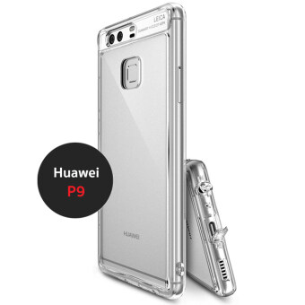 Huawei Hybrid Protective antishock case เคสกันกระแทก ระดับ Military Grade สำหรับ Huewei P9 สีขาวใส (Crystal Clear)