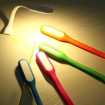 ไฟแอลอีดี ยูเอสบี พกพา Portable USB LED Light Port Bendable USB LED Lamp Light(Random Colour)