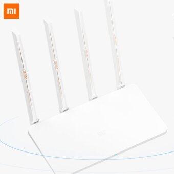Xiaomi MIR3c Dual Band 4-Antenna 3-WAN Router - White - intl