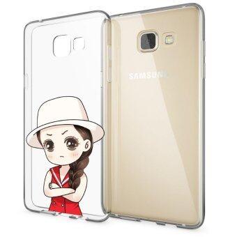 HugCase TPU เคส Samsung Galaxy A9เคสโทรศัพท์พิมพ์ลาย Sense of wonder เนื้อบาง 0.3 mm