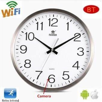 1080P P2P Wifi Function HD Wall Clock Camera ราคาถูกที่สุด ส่งฟรีทั่วประเทศ