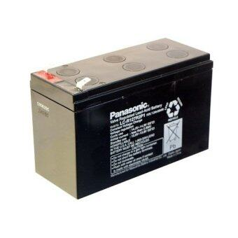 Panasonic แบตเตอรี่แห้ง รุ่น LC-V127R2NA 12V 7.2Ah SLA ฺBATTERY(สีดำ)