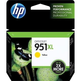 HP 951XL High Yield YELLOW Original Ink Cartridge CN048A (สีเหลือง)