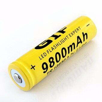 ถ่านชาร์จ Li-ion 18650 GIF 3.7V ความจุ 9800mAh (Yellow) ราคาถูกที่สุด ส่งฟรีทั่วประเทศ