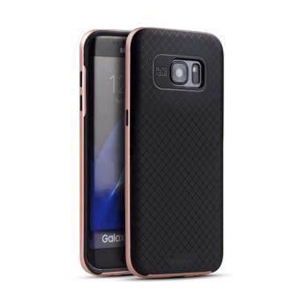 iPaky เคส Samsung Galaxy S7 Edge - สีโรสโกลด์