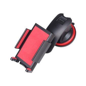 i-Unique ขาจับมือถือในรถยนต์ In Car Universal Mount For Smartphone RoHS - Red