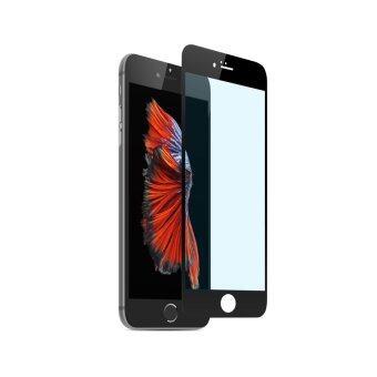 Cessory ฟิล์มกระจกนิรภัย เต็มจอ ตัดแสงสีฟ้า iPhone 6, 6s (4.7นิ้ว) 0.26mm 2.5D ขอบมน (สีดำ)