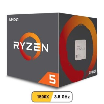 Harga AMD CPU Ryzen 5 1500X 3.5 GHz 4C/8T AM4