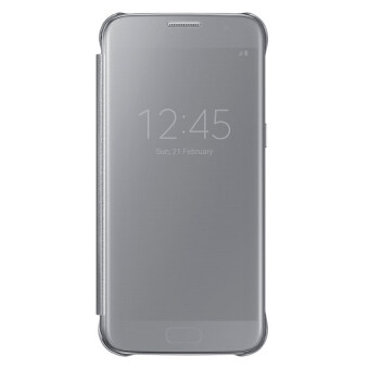 Harga Samsung Galaxy S7 Clear View Cover (Silver)