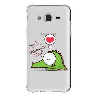 AFTERSHOCK TPU เคส Samsung Galaxy J7 2015 เคสโทรศัพท์พิมพ์ลาย Valentine's 8 เนื้อบาง 0.33 mm