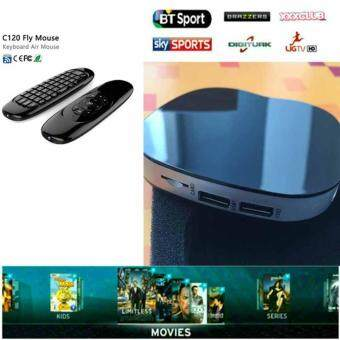 NEW TV BOX T758Q+Air mouse C120 Set Amlogic S905X Android 6.0 box Quad core 2.4G Wifi กล่องดิจิทัลทีวี กล่องแปลงสัญญาทีวีดิจิทัล ระบบแอนดรอย