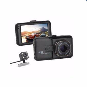 awei168thai กล้องติดรถยนต์ Q6A กล้อง หน้า-หลัง (WDR) Full-HD 1080P