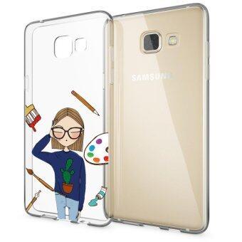 AFTERSHOCK TPU Case Samsung Galaxy J5 Prime (เคสใสพิมพ์ลายYEAH!) / Thin 0.33 mm
