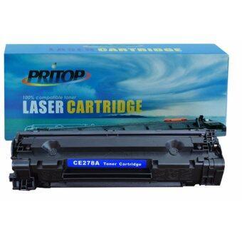 PRITOP ตลับหมึกเลเซอร์ HP CE278A/78A HP LaserJet P1566/P1606