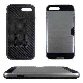 ใหม่เอี่ยม Apple iPhone 7 เคสการป้องกันโทรศัพท์ สีเงิน, High Quality, Shock Resistant
