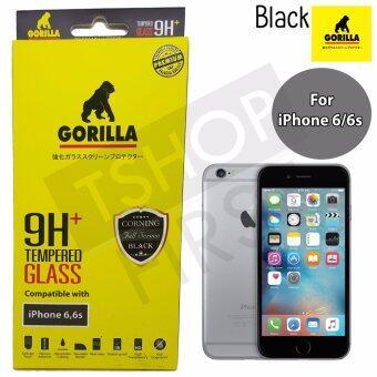 Gorilla Corning Tempered Glass กอริล่า ฟิล์มกระจกนิรภัยเต็มหน้าจอ For iPhone 6,6s
