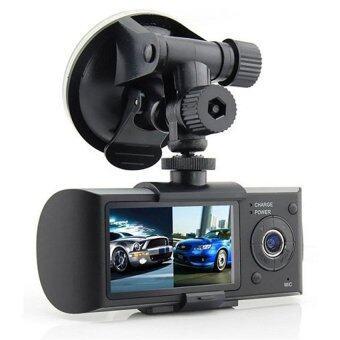 Car cam รุ่น R300 กล้องวีดีโอคู่ติดรถ HD DVR ราคาถูกที่สุด ส่งฟรีทั่วประเทศ