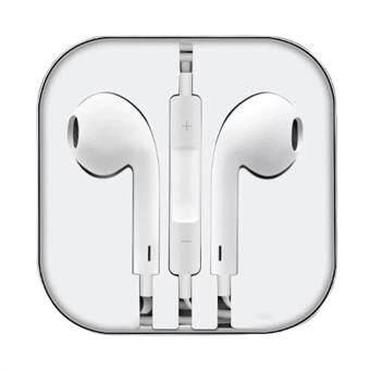 Smart Earphone หูฟังสำหรับไอโฟน iPhone 6 / 6 plus / iPad / iPod (สีขาว)