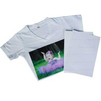 DTawan กระดาษลอกลายลงเสื้อสีอ่อน ผ้าสีอ่อน กันน้ำ จำนวน 10แผ่น