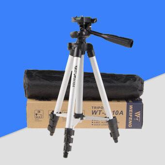 ขาตั้งกับ 3 ทาง HeadTripod สำหรับ Nikon D7100 D90 D3100 DSLR Sony NEX-มาพัก A7S Canon 650D 70D 600D WT-3110A