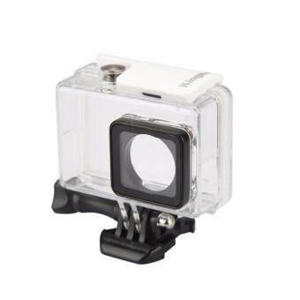 YI เคสกันน้ำ Xiaomi Yi 2 Yi 4k Action Camera Waterproof Housing 40 meters (Red)