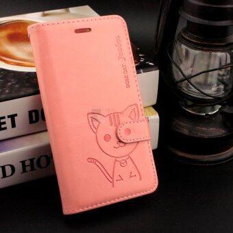 Domi Cat เคส Huawei Y6 II พร้อม สายคล้องมือ
