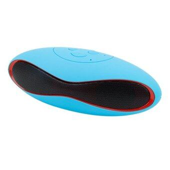 ATM ลำโพงบลูทูธ Bluetooth Speaker รุ่น Mini-X6U (สีฟ้า)