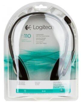 Logitech ชุดหูฟังสเตอริโอ รุ่น H110
