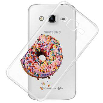 AFTERSHOCK TPU Case Samsung Galaxy J2 2016 (เคสใสพิมพ์ลาย Donut ) / Thin 0.33 mm