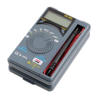 จอ Lcd แบบอัตโนมัติช่วงมินิ AC/DC กระเป๋าเครื่องมือทดสอบมัลติมิเตอร์เครื่องวัดแรงดันไฟฟ้า