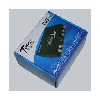 DVB-T2 กล่องรับสัญญาณ TV Digital ติดรถยนต TV DVB - T2 HD สองเสาสัญญาณ