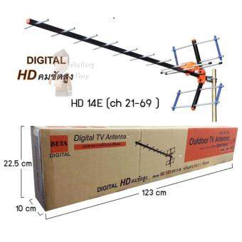 ปีกทีวี HD14E + สาย 15 เมตร