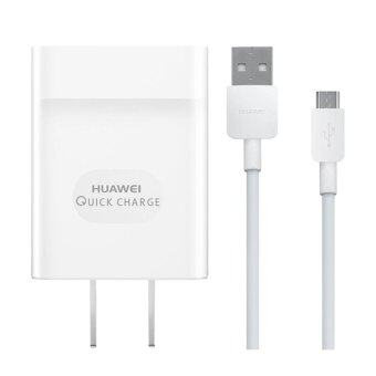 HUAWEI หัวชาร์จและสายชาร์จ Adapter + Data Cable Quick Charge 2.0 ของแท้