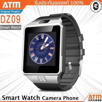 ATM Smart Watch Phone รุ่น DZ09 (สีดำ) กล้องนาฬิกาบูลทูธ ใส่ซิมได้ Bluetooth Smart Watch SIM Card Camera