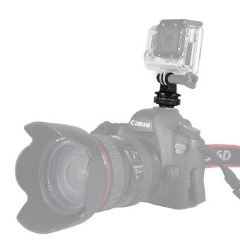 (นำเข้า) EACHSHOT DSLR Hotshoe ใส่อะแดปเตอร์สำหรับ GoPro HERO SJCAM Xiaomi YI กล้อง