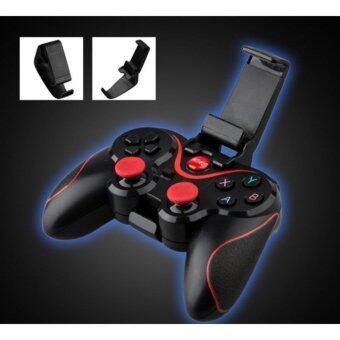 Astro Gamepad Bluetooth T3 จอยเกมส์ไร้สายสำหรับโทรศัพท์มือถือ แท๊ปเล็ต คอมพิวเตอร์ (Black)