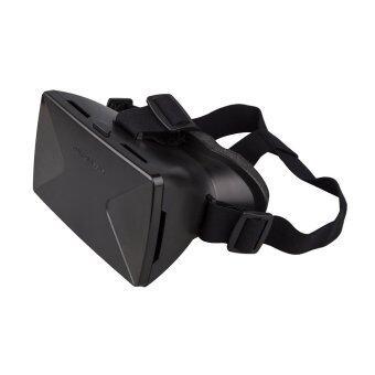 All Mate กล่องแว่นตาดูหนังในมือถือแบบ 3D (สีดำ)