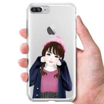AFTERSHOCK TPU Case iPhone7 Plus (เคสใสพิมพ์ลาย My Gril) / Thin 0.33 mm