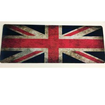 แผ่นรองเมาส์ ลายธงชาติอังกฤษ ขนาด 30x80 ซม