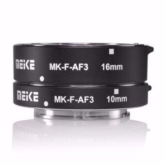 (นำเข้า) Meike MK-F-AF3 ออโตโฟกัสขยายท่อโลหะยาว 10มม 16มมสำหรับ FUJIFILM xPro2/XT1/XA1/XA2/XE1/XE2/XE2s/XE3/X70/XE1/X30/X70/XM1/XM10/XPro1