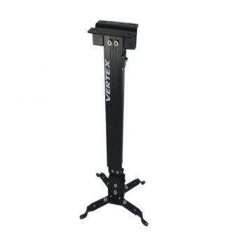 Vertex LHG-05B ขาแขวนโปรเจคเตอร์ ขายืดหด 43-65 ซม. รับน้ำหนักได้ 6.5 กก. สีดำ