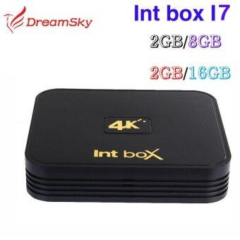 Int Box I7S Amlogic S912 Octa Core Android 6.0 TV Box 2GB/16GB 2.4G/5GHz Dual WIFI BT4.0 4K Intbox i7 Media Player 2GB 8GB - intl