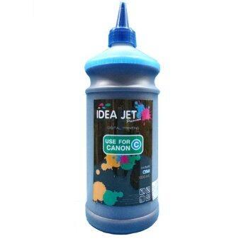 Idea Jet หมึกเติมอิงค์เจ็ท Canon 1000 ML สีฟ้า (C)