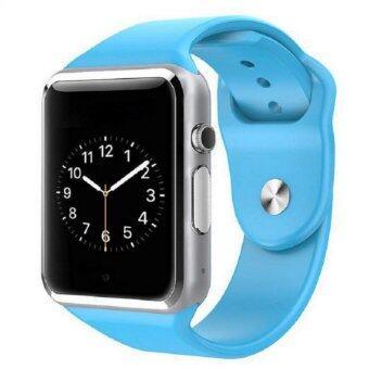 KS smart watch นาฬิกาโทรศัพท์ บลูทูธ ถ่ายรูป รุ่นA1 (สีฟ้า)