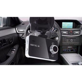 กล้องบันทึกวีดีโอ Full HD ติดกระจกหน้ารถ Vehicle Blackbox DVR -K6000