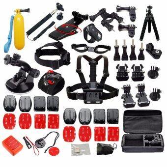 Gopro Accessories เซ็ตชุดเข้ารัดโมโนขาตั้งสำหรับ Gopro hero 5 4 3 สำหรับมืออาชีพไป SJCAM SJ4000 SJ5000 SJ7000 xiaomi yi กล้อง eken h9